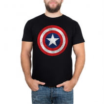 Футболка Captain America Star -