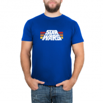 Футболка Star Wars Retro Logo -